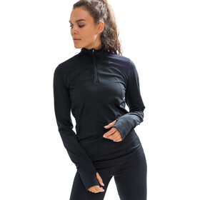 Craft Fuseknit Comfort Camiseta Cremallera Mujer, black